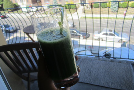 green juice home made