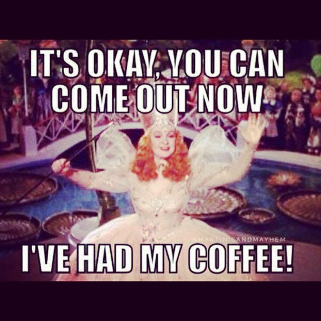 Lol! #monday. I'm two 12 hours days away from #DISNEY! The Lord + #coffee please get me through it ??