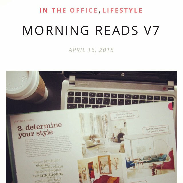 Worst morning ever. I'm finally getting into work after being bounced around from doctor to doctor. UGH. Anyway, here are some good reads to kick start your post-lunch procrastination! #weheartbeautyblog #blog www.weheartbeauty.com link in profile ??? #coffee and #computer always #deskdiaries