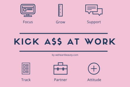 how to kick ass at work, work advice and tips