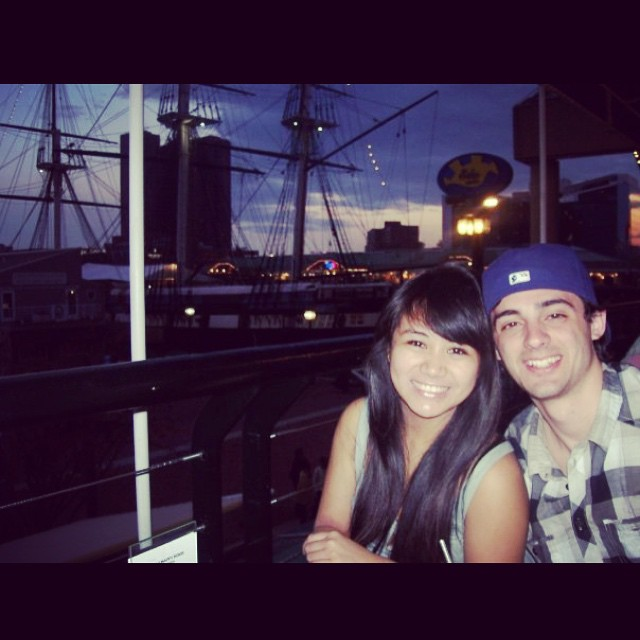 Six years ago (before we were even dating) we went to DC with our best friends and on the drive back up we stopped in Baltimore and had SUSHI (their first time eating it ever)! You know how I should have known we would be in love? This adorable photo. #fbf #weddingplannersareforquitters #lmmc2016 ?????