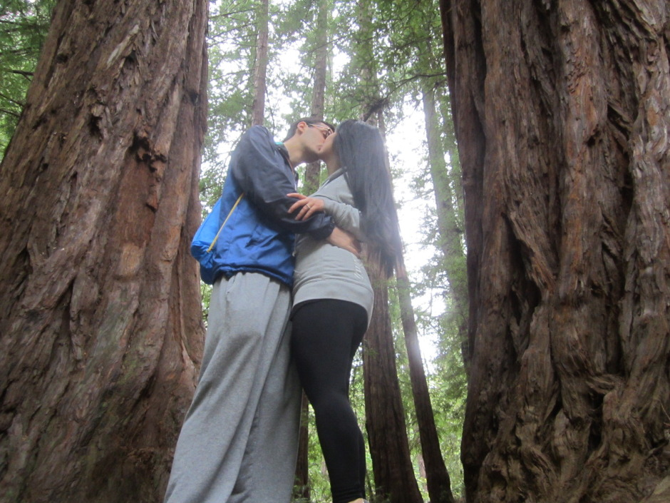 muir woods hike engagement