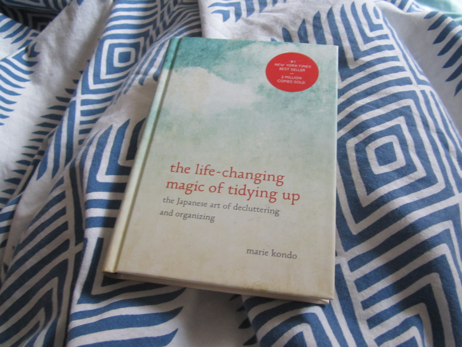 marie kondo the life chaning magic of tidying up