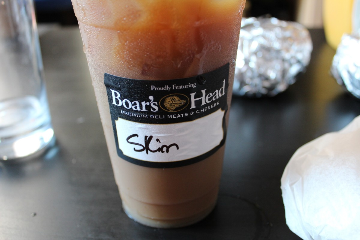 faux brunch iced coffee