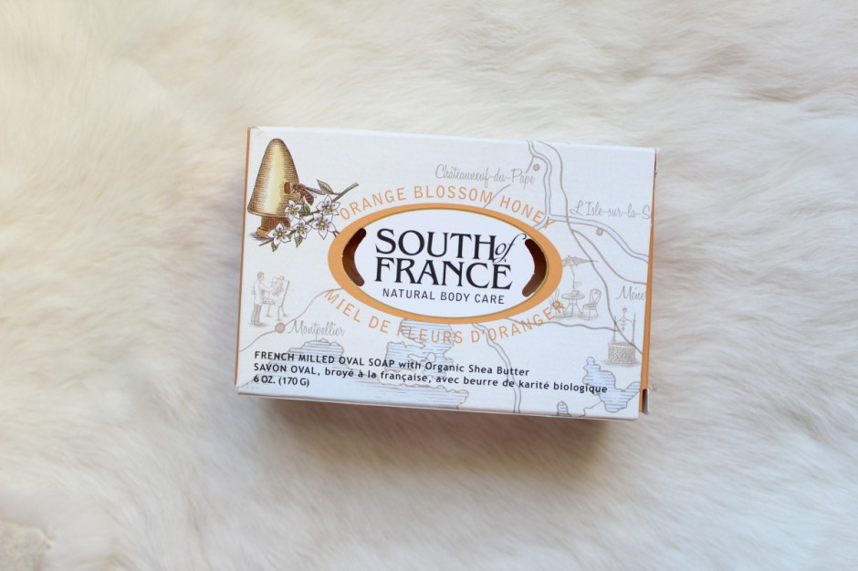 south of france orange blossom honey