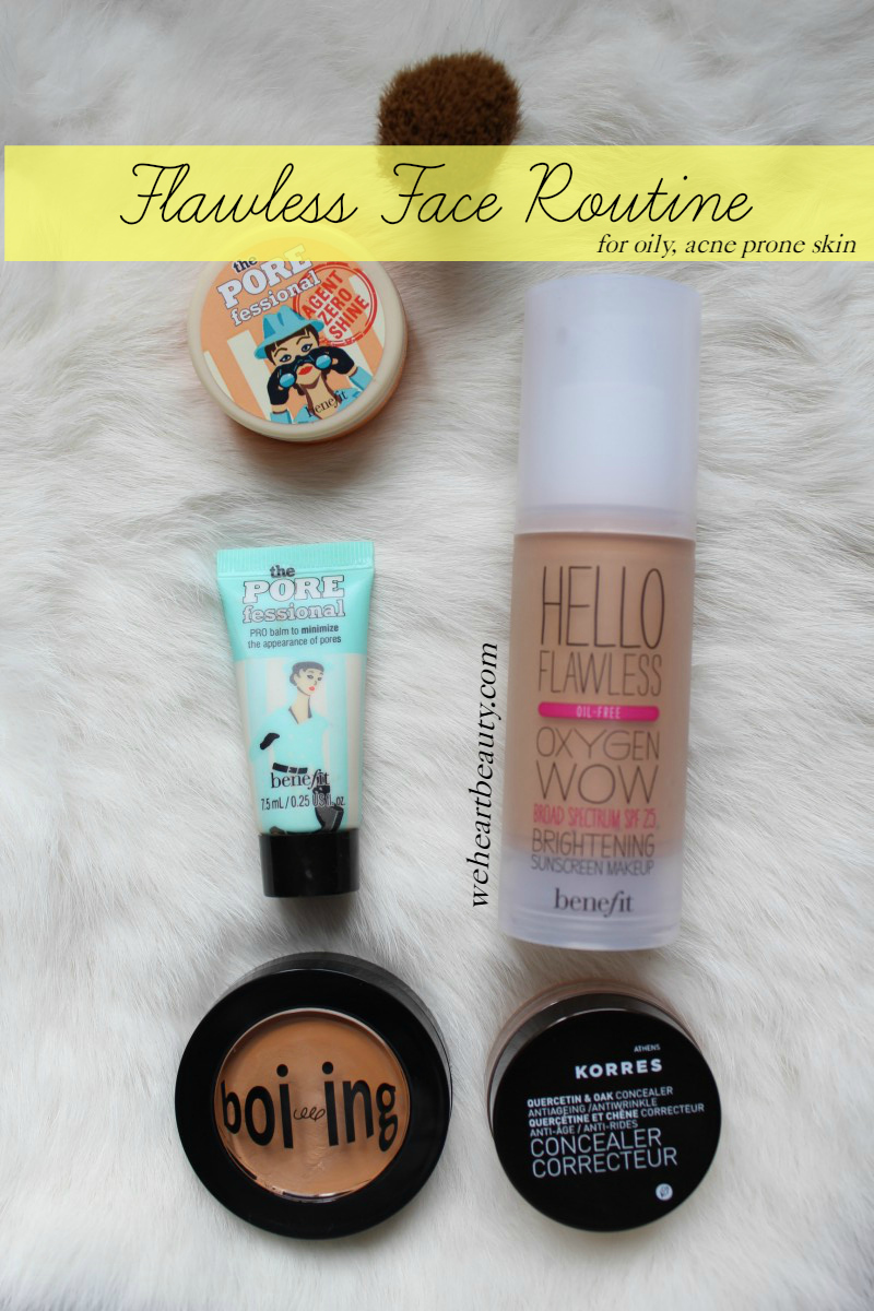 weheartbeauty flawless face routine